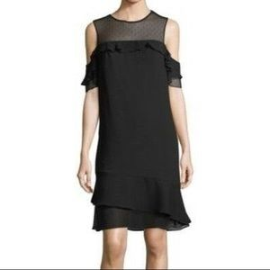 Nanette Lepore Cold Shoulder Dress